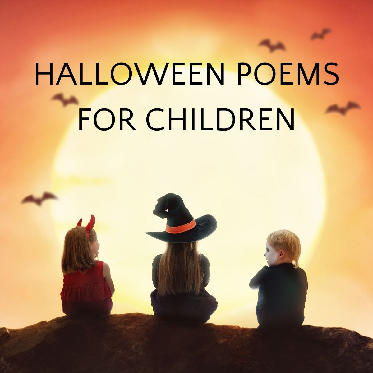 Scary & Sweet Halloween Poems for Kids