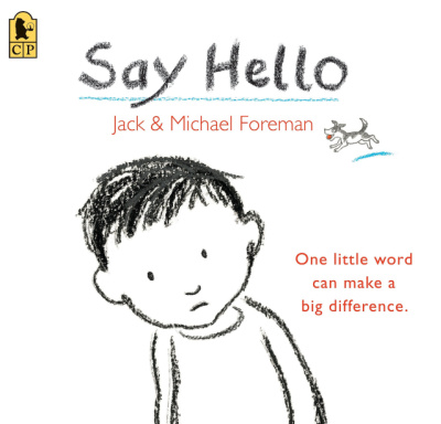 say hello book cover