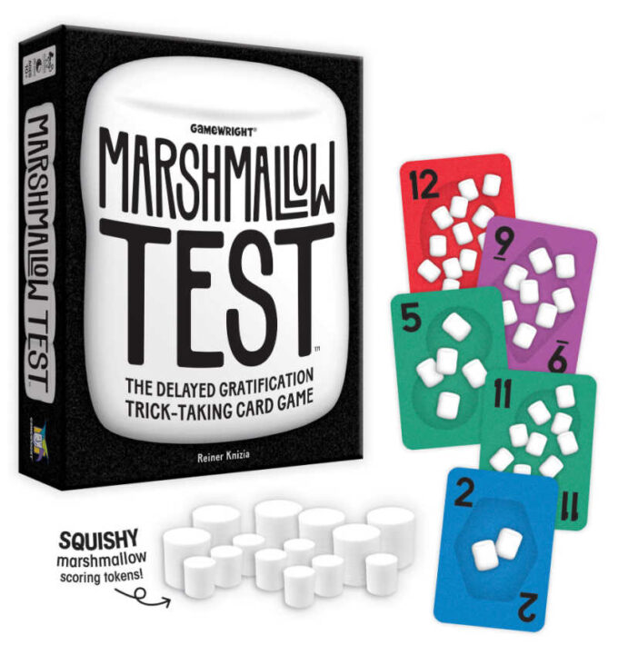 marshmallow test card game product photo