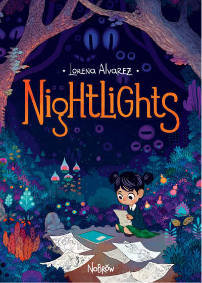 nightlights graphic novel book cover