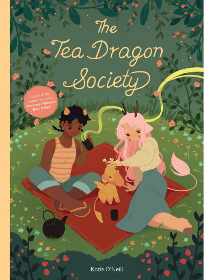 the tea dragon society book cover