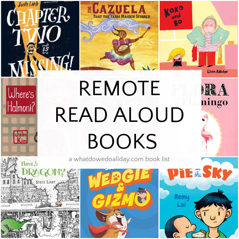 Remote Read Aloud Books for Children Connect Online
