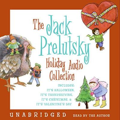 jack prelutsky holiday cd audiobook cover