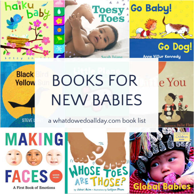 gift books for babies book covers