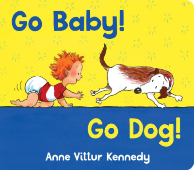 go baby go dog book cover