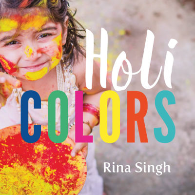 holi colors book cover