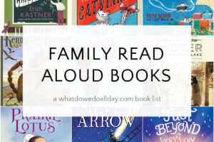family read aloud books book covers