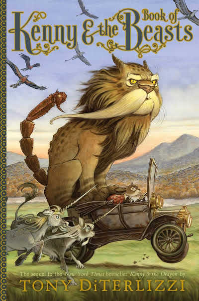 kenny and the book of beasts book cover