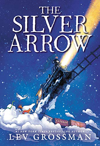 the silver arrow book with train on cover