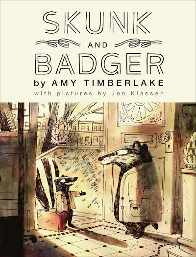 skunk and badger family read aloud book cover