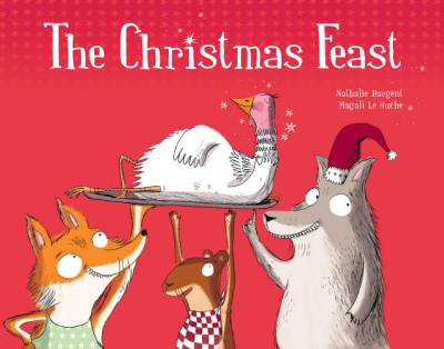The Christmas Feast, funny Christmas picture book cover
