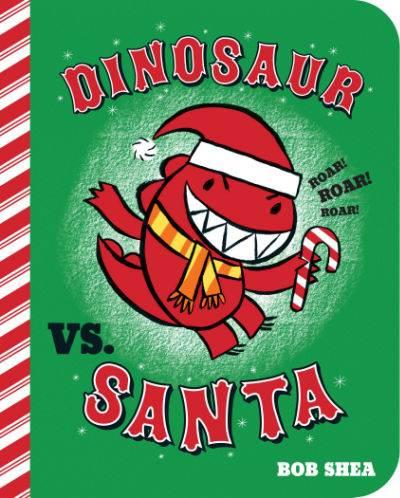 dinosaur vs santa book cover