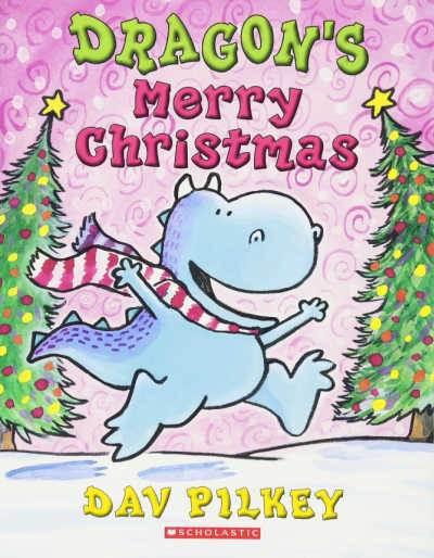 dragon's merry christmas book by dav pilkey