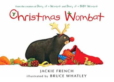 christmas wombat picture book cover