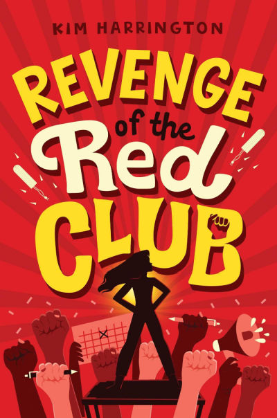revenge of the red club book cover