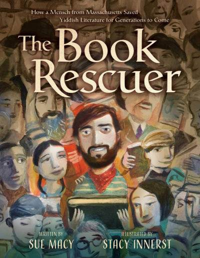 the book rescuer by sue macy  book cover