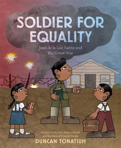 Soldier for Equality book cover