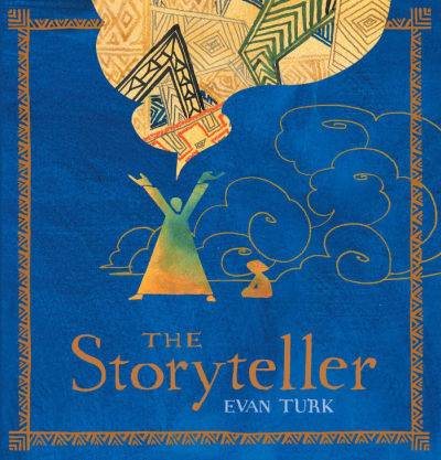 the storyteller by evan turk book cover