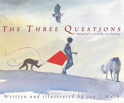 the three questions by jon muth book cover