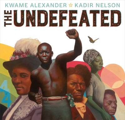 the undefeated by kwame alexander book cover