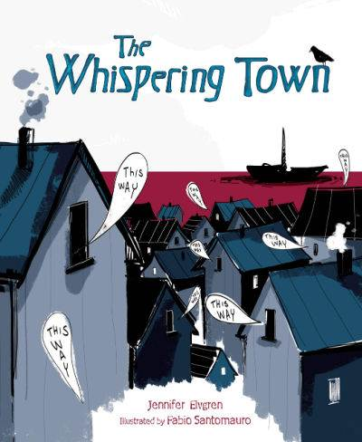 The Whispering Town book cover
