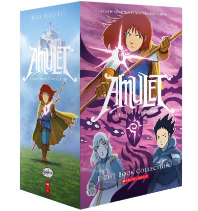 amulet book gift set