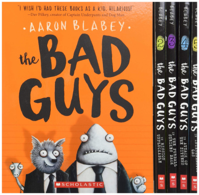 the bad guys beginning chapter book series box set