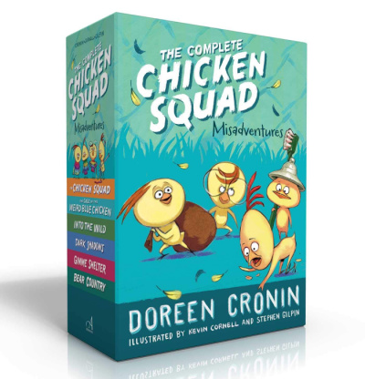 the chicken squad book series box set