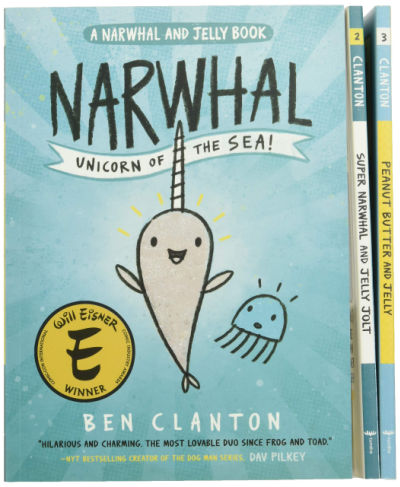 narwhal and jelly graphic novel box set