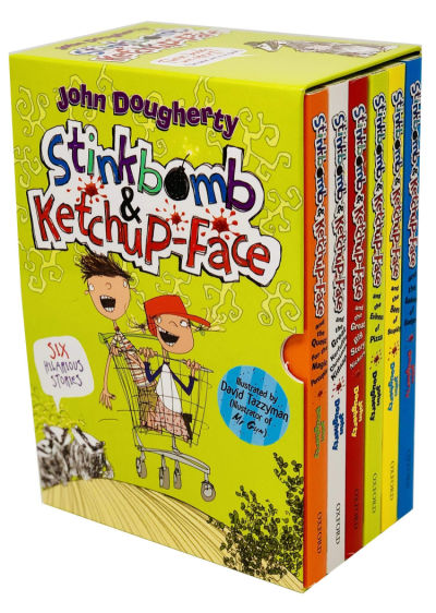 stinkbomb and ketchup face chapter book box set