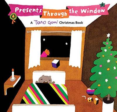 Presents through the window by taro gomi picture book cover