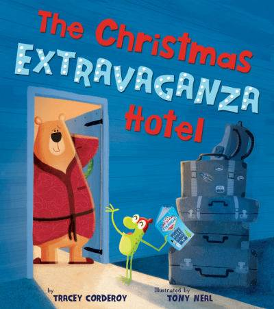 The Christmas Extravaganza Hotel  book cover