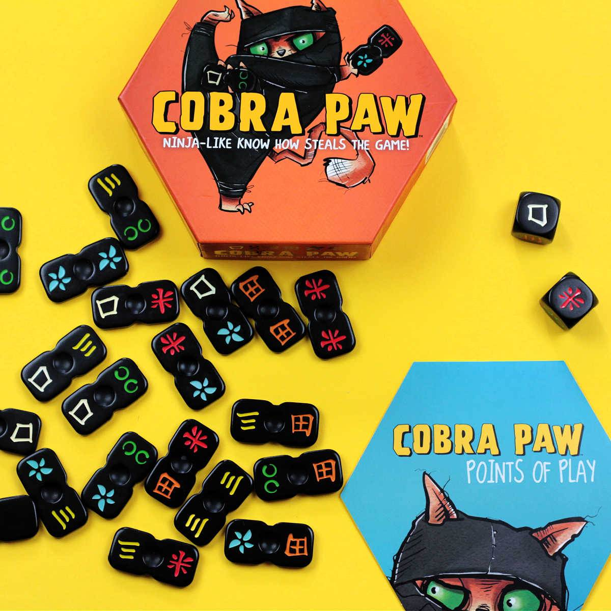 cobra paw tile game