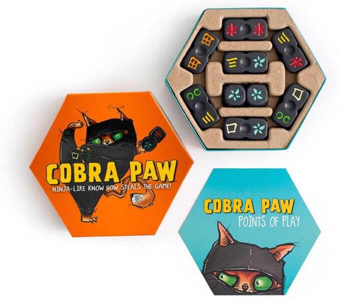 open Cobra Paw game box