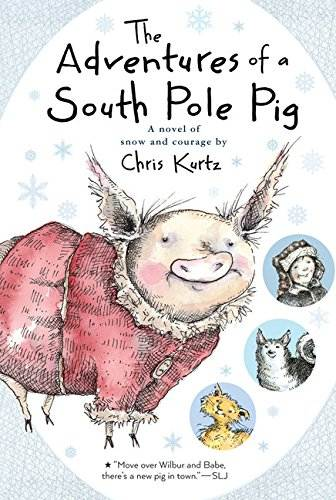 the adventures of a south pole pig book cover