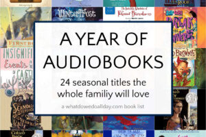 collage of audiobook covers