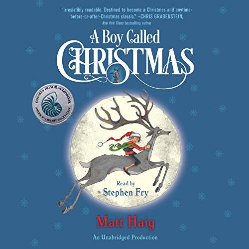 A Boy Called Christmas audiobook cover