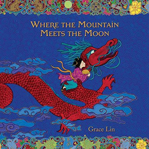 where the mountain meets the moon audiobook cover art