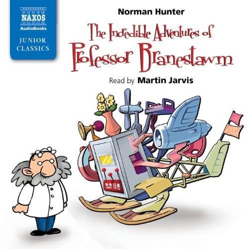 the incredible adventures of professor Branestawm audiobook cover art