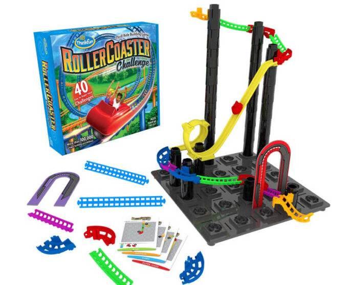 Roller coaster challenge logic game
