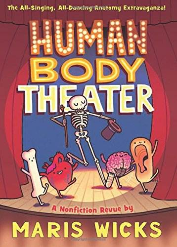 Human Body Theater graphic novel revue book cover