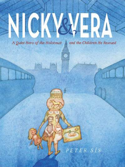 Nicky and Vera by Peter Sis book cover