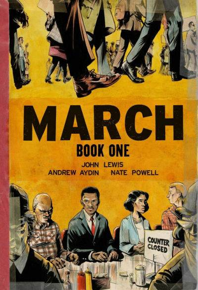 March by John Lewis graphic novel book cover