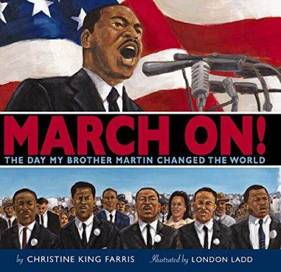 March On by Christine King Farris book cover