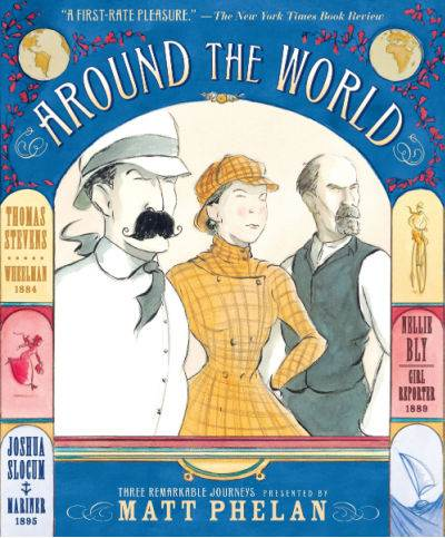 Around the World graphic novel by Matt Phelan
