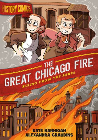 The Great Chicago Fire history comic book cover