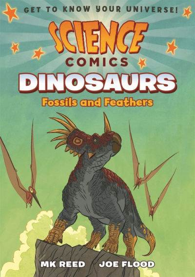 science comics dinosaurs book cover