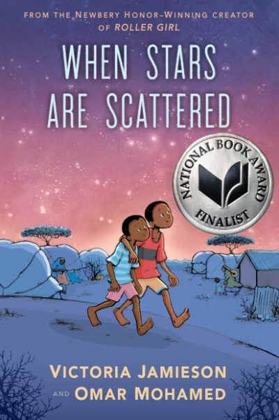When Stars Are Scattered graphic novel memoir book cover