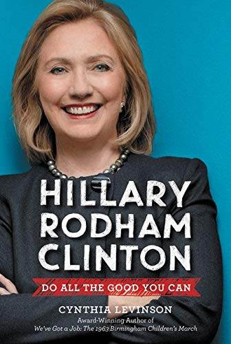 Photo of Hillary Rodham Clinton on book cover