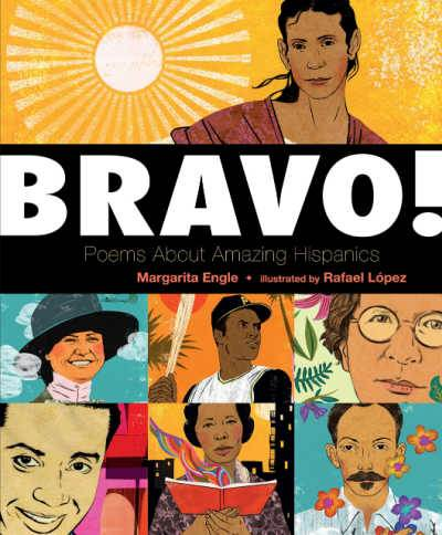 Bravo book cover with faces of hispanic people